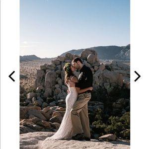Lulu's Dresses - Lulu's Flynn White Lace Wedding Dress